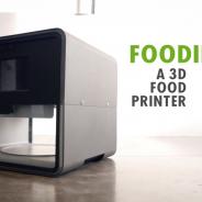 Presentan la impresora 3D de comidas