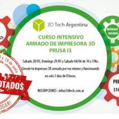 Curso de armado de impresora 3D – 18/06 19/06